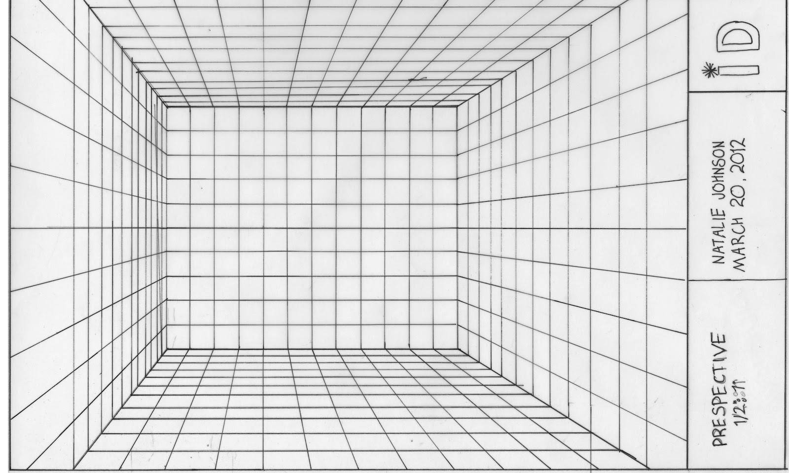 perspective template - Room Layout Grid
